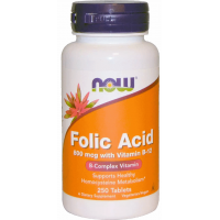 Folic Acid 800 mcg with Vitamin B12 (120 таб.)