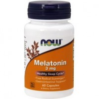 Now Melatonin 3 мг 60 таб. мелатонин для сна