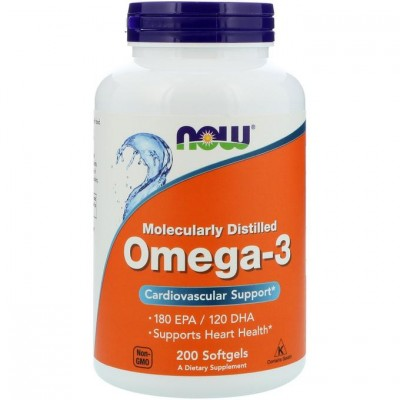 Now  Omega-3 1000 мг 200 кап. омега